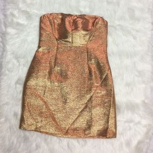 NWT Size 4 Gold Express Cocktail 🍸 Dress